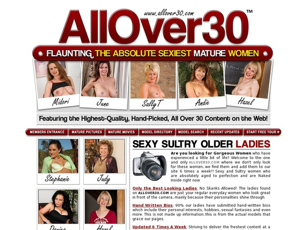 Allover30 Checkout Form